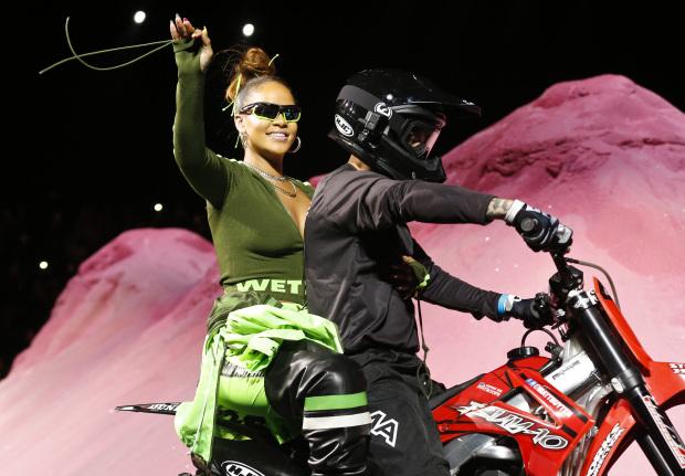 Rihanna headlines New York Fashion Week day four