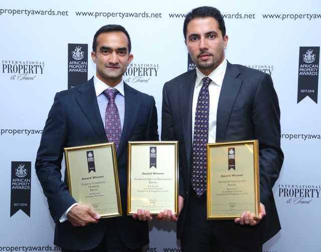 Seef Terraces wins top awards