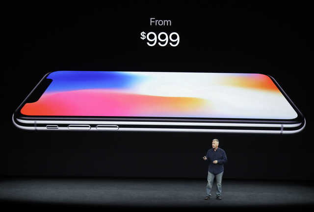 Apple launches $999 iPhone X in bid to regain innovation lead