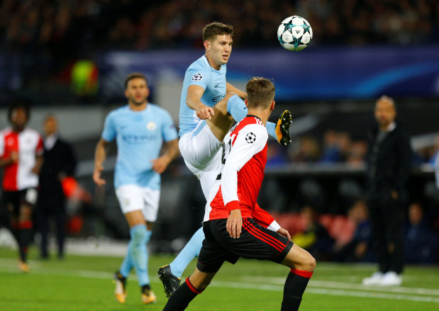 Manchester City's Stones 'must win duels' to become world-class