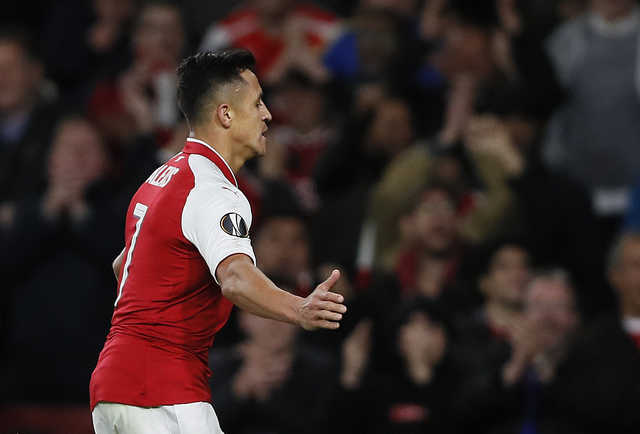 Europa League: Arsenal rally past Cologne