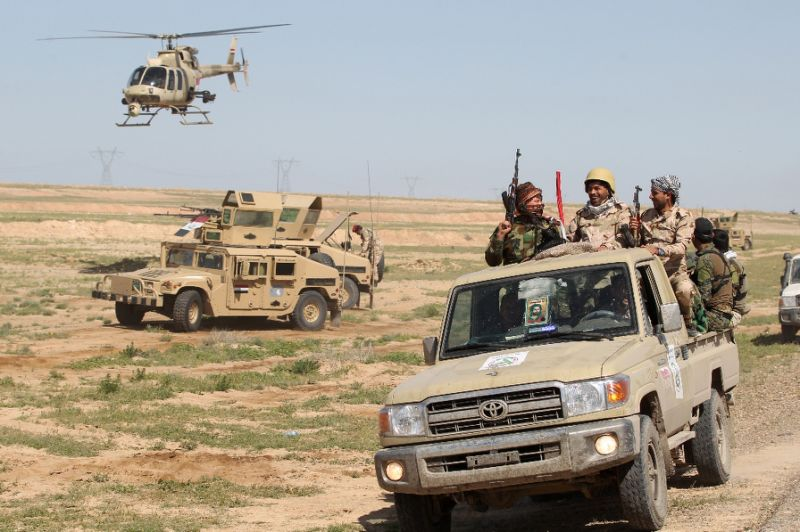 Iraq launches operation near Syrian border says military commander