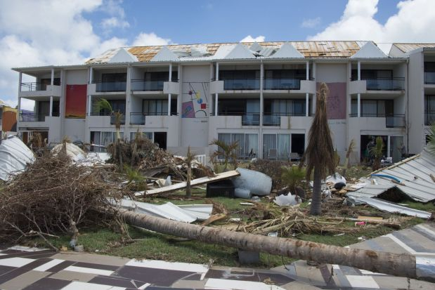 France's hurricane-hit St Martin on guard for health threats