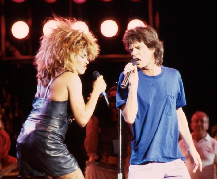 Tina Turner taught Mick Jagger to dance