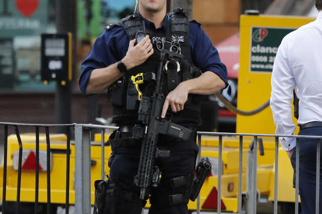 UK police arrest second man in London subway attack case