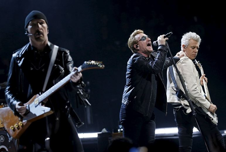 U2 cancels concert in protest-hit St Louis