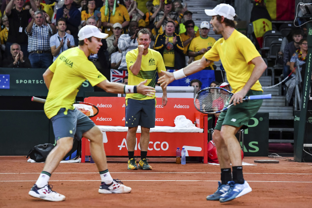 Australia close in on Davis Cup final