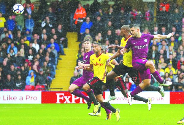 Premier League: City take top spot after 6-0 demolition of Watford
