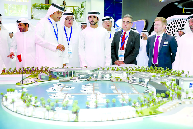Bahrain Marina project showcased at Cityscape