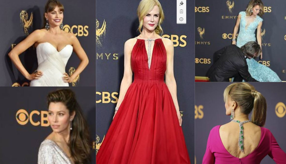 Emmy Red Carpet: Fun, Frolic and Frocks!