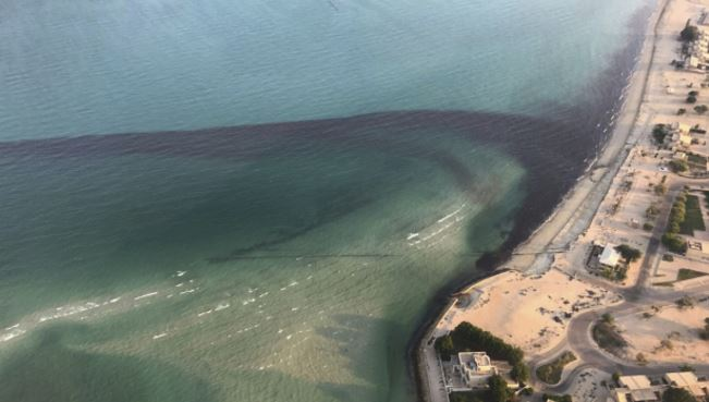 Kuwait says new oil spill strikes near site of August slick