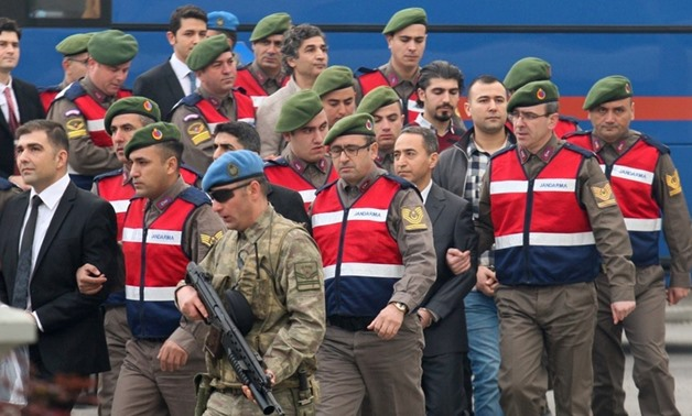 Turkey starts trial of 30 newspaper staff for links to coup attempt