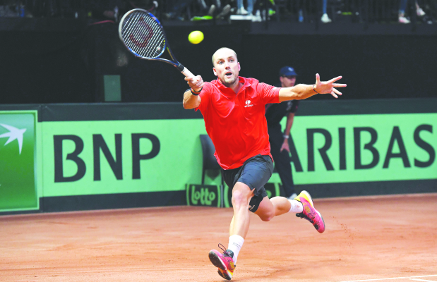 France take on Belgium in Davis Cup final