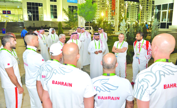 Bahrain begin medal hunt at Asian Indoor Games