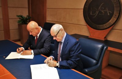 DFSA inks partnership deal with Lebanon's CMA