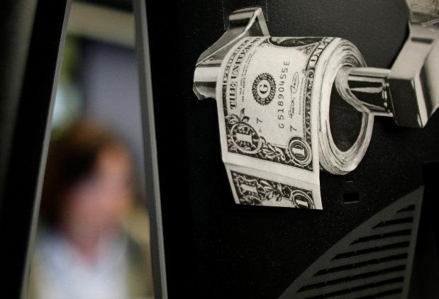Geneva toilets flush with cash