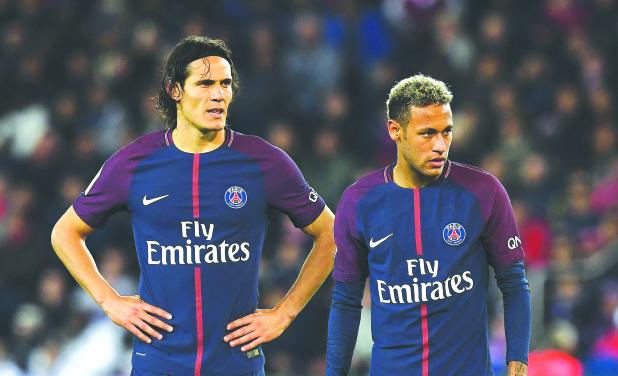 PSG look to ease Neymar-Cavani 'tensions'