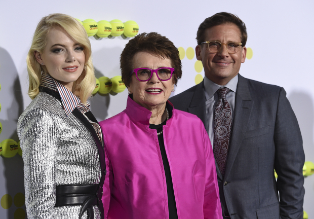 In 'Battle of the Sexes,' King passes a baton to Emma Stone