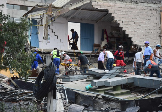 In Pictures: 7.1 magnitude quake kills 217 in Mexico