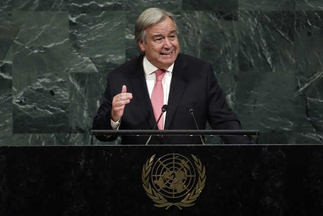 UN chief to open signing for first nuclear ban treaty