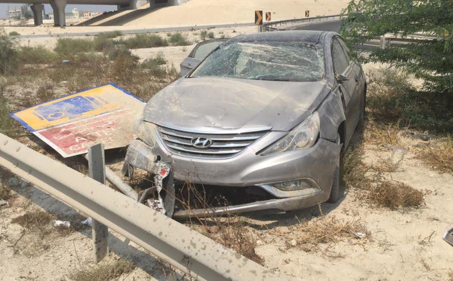 Bahrain News: Bahraini girl injured in road accident on Zallaq Highway