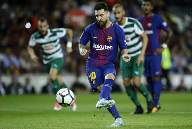 La Liga: Messi leaves everybody but Valverde stunned in Eibar rout