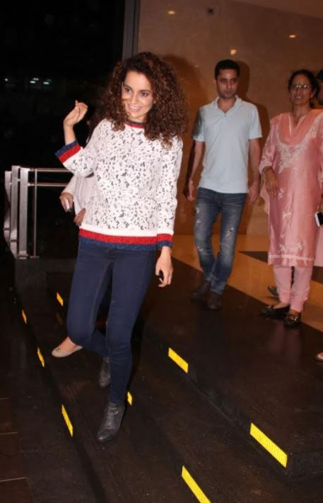Vintage photos of Kangana Ranaut and her family