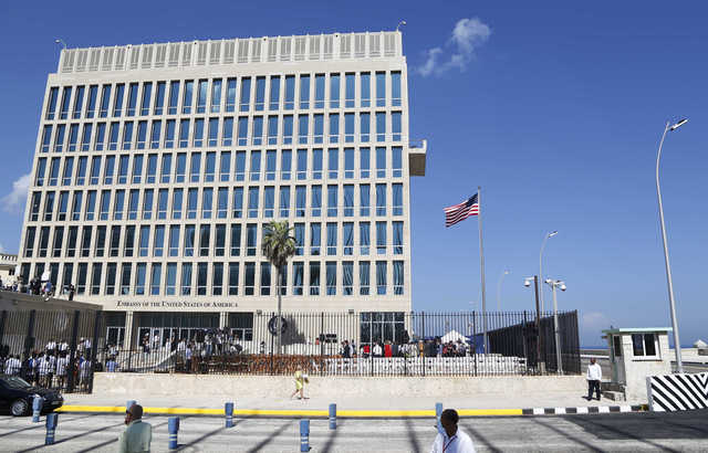 Cuba again denies role in 'health attacks' on US diplomats