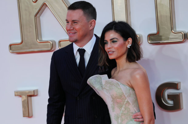 Channing Tatum and wife Jenna Dewan shine at the premiere of 'Kingsman: The Golden Circle'