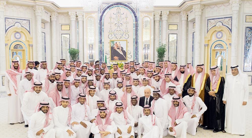 King Salman hails Saudi football team's World Cup qualification