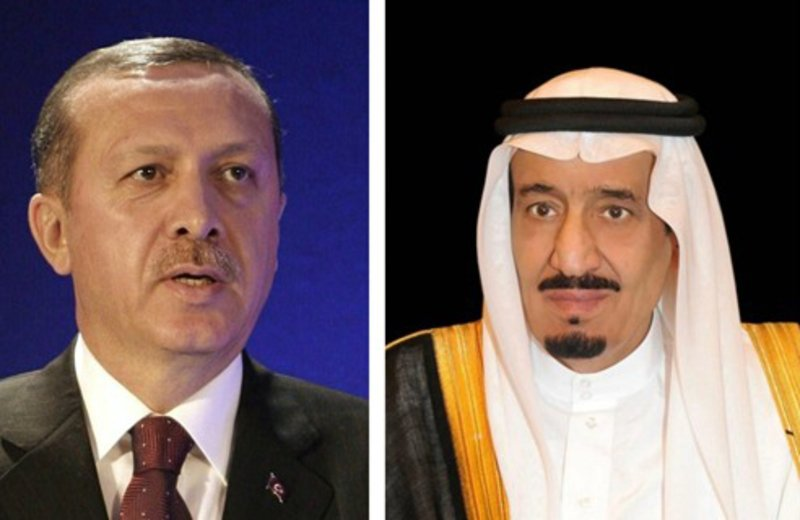 Saudi, Turkish leaders discuss regional developments