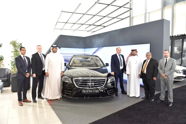 New Mercedes Benz S-Class unveiled