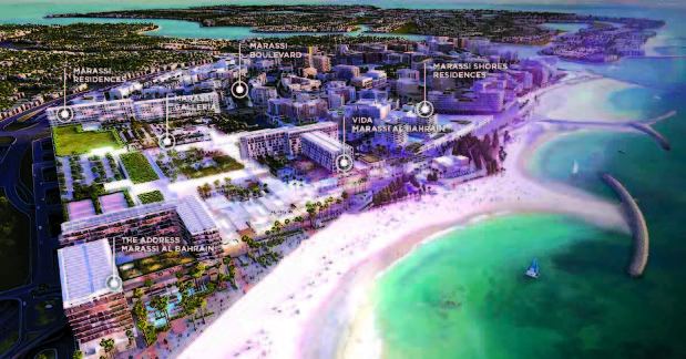 Eagle Hills showcases Bahrain project in UAE