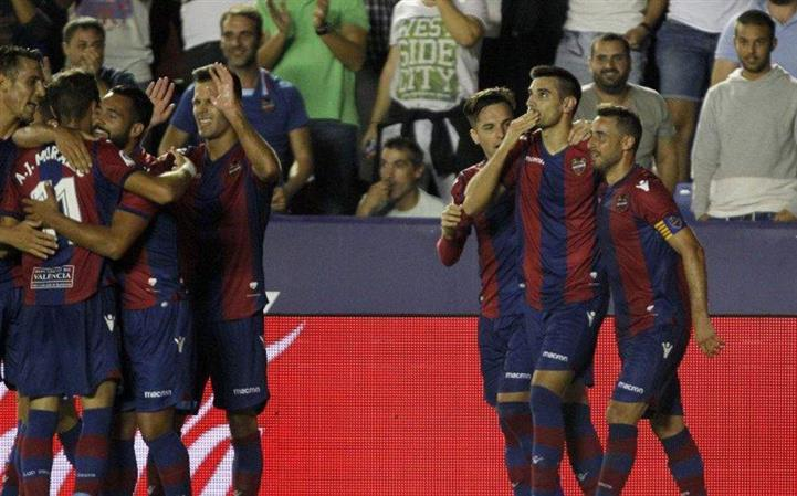 La Liga: Defender's stunning volley helps Levante win