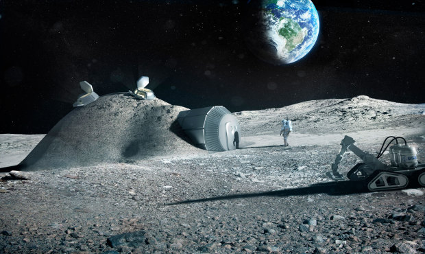 Fly me to the Moon: For some, lunar village takes shape