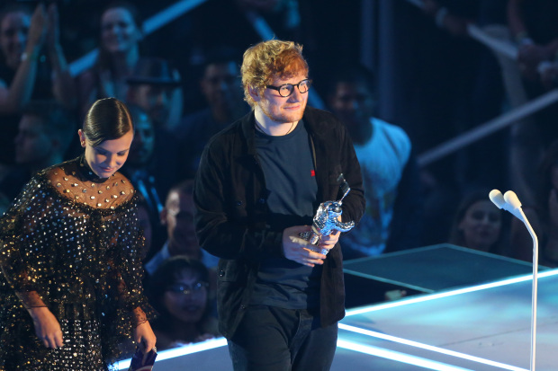 Sheeran's 'Shape of You' most streamed ever on Spotify