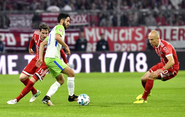 Wolfsburg hold sloppy Bayern
