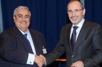 Foreign minister meets Jordanian counterpart