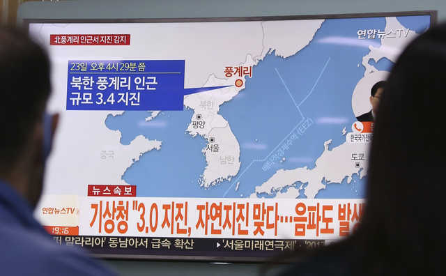 3.5-magnitude quake rattles North Korea near nuclear test site