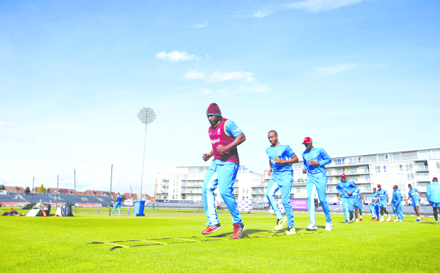 Gayle fit and raring to go