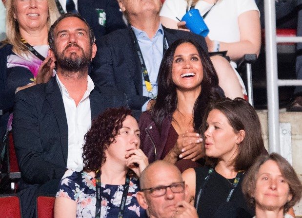 IN PICTURES: Meghan Markle appears at Prince Harry's Invictus Games