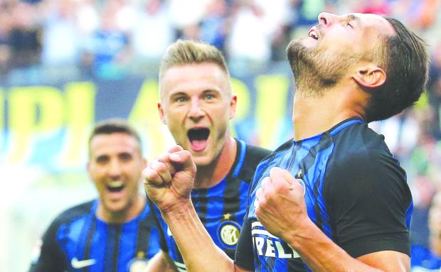 D'Ambrosio lifts Inter past Genoa