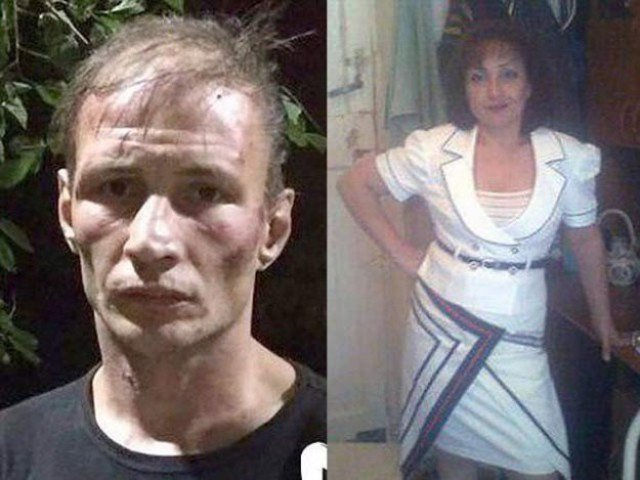 Cannibal couple 'took selfies with body parts'