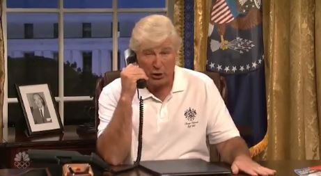 New season of 'SNL' roars back by mocking Donald Trump early