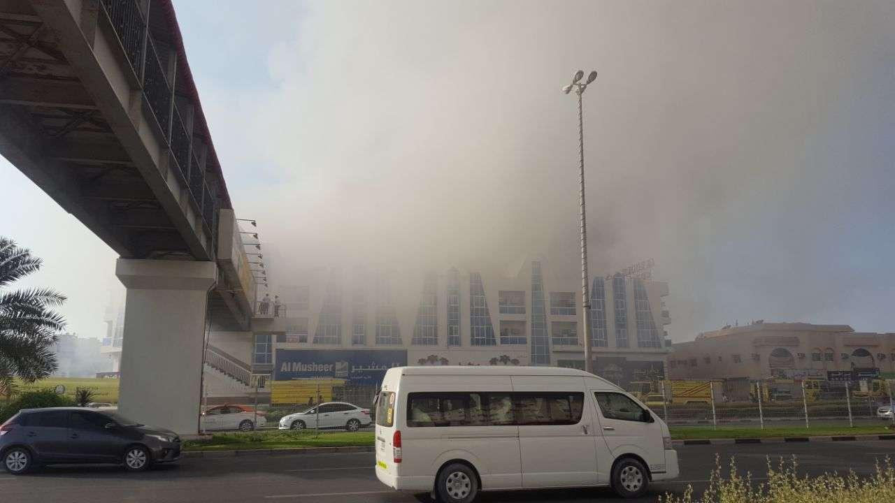 VIDEO: Huge fire engulfs Al-Hout Shopping Mall