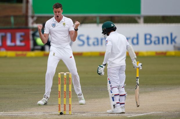 South Africa rips through Bangladesh to win first test