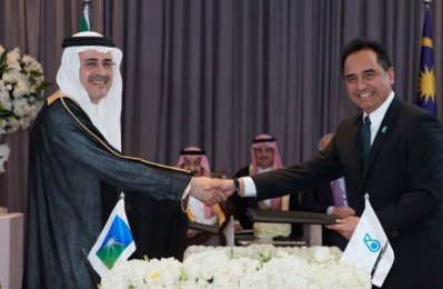 Aramco seals Malaysia petchem complex partnership deal