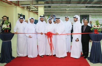 Elan Group opens new signage factory