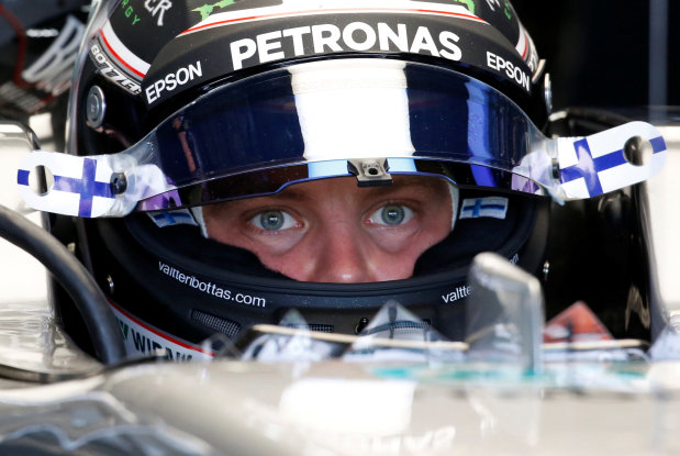 Bottas fastest before crashing in final Suzuka practice