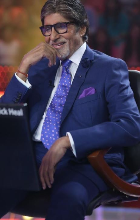 TV: Birthday surprise makes Amitabh Bachchan emotional on 'KBC 9' set!